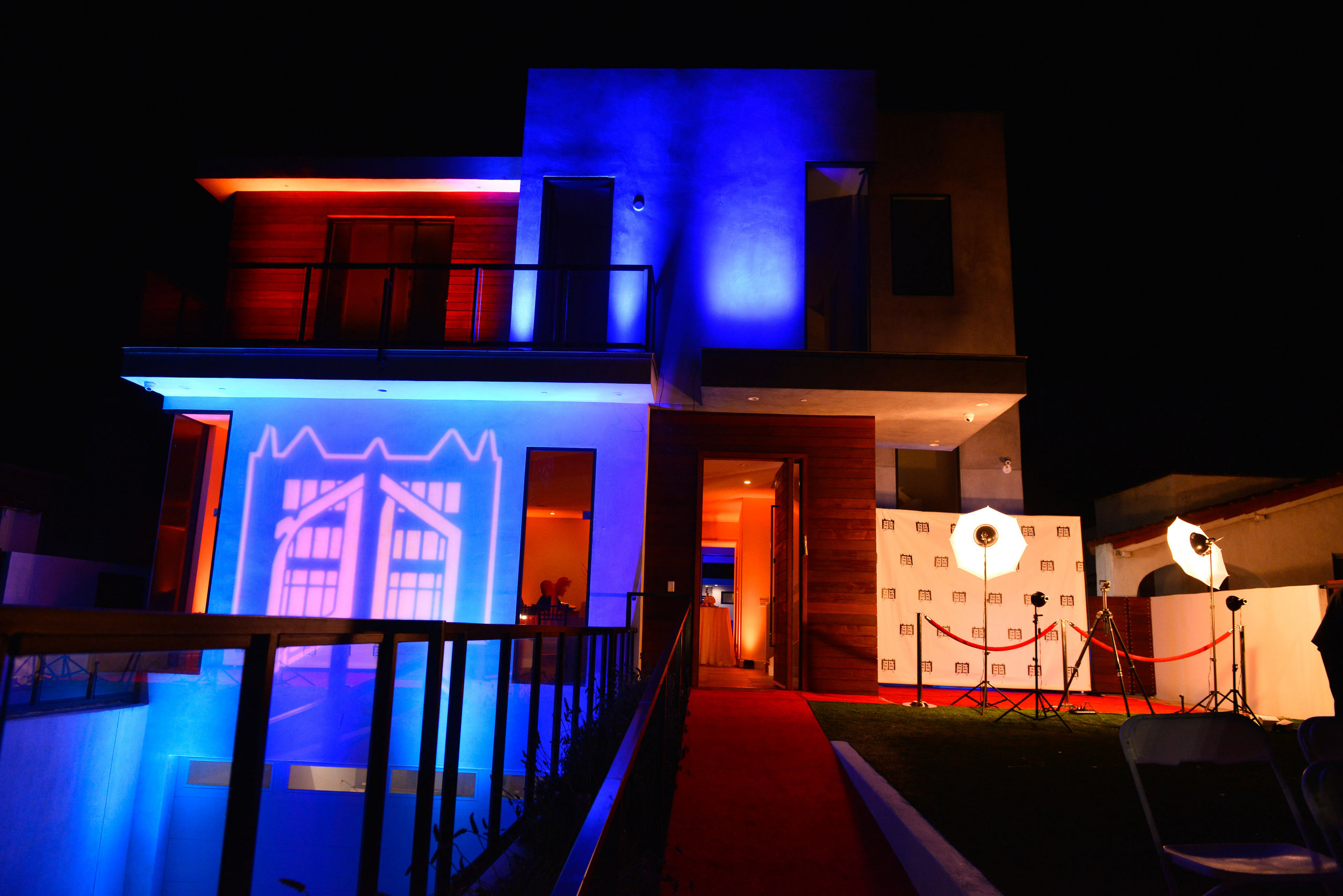 Party Rentals Los angeles Red Carpet Entrance