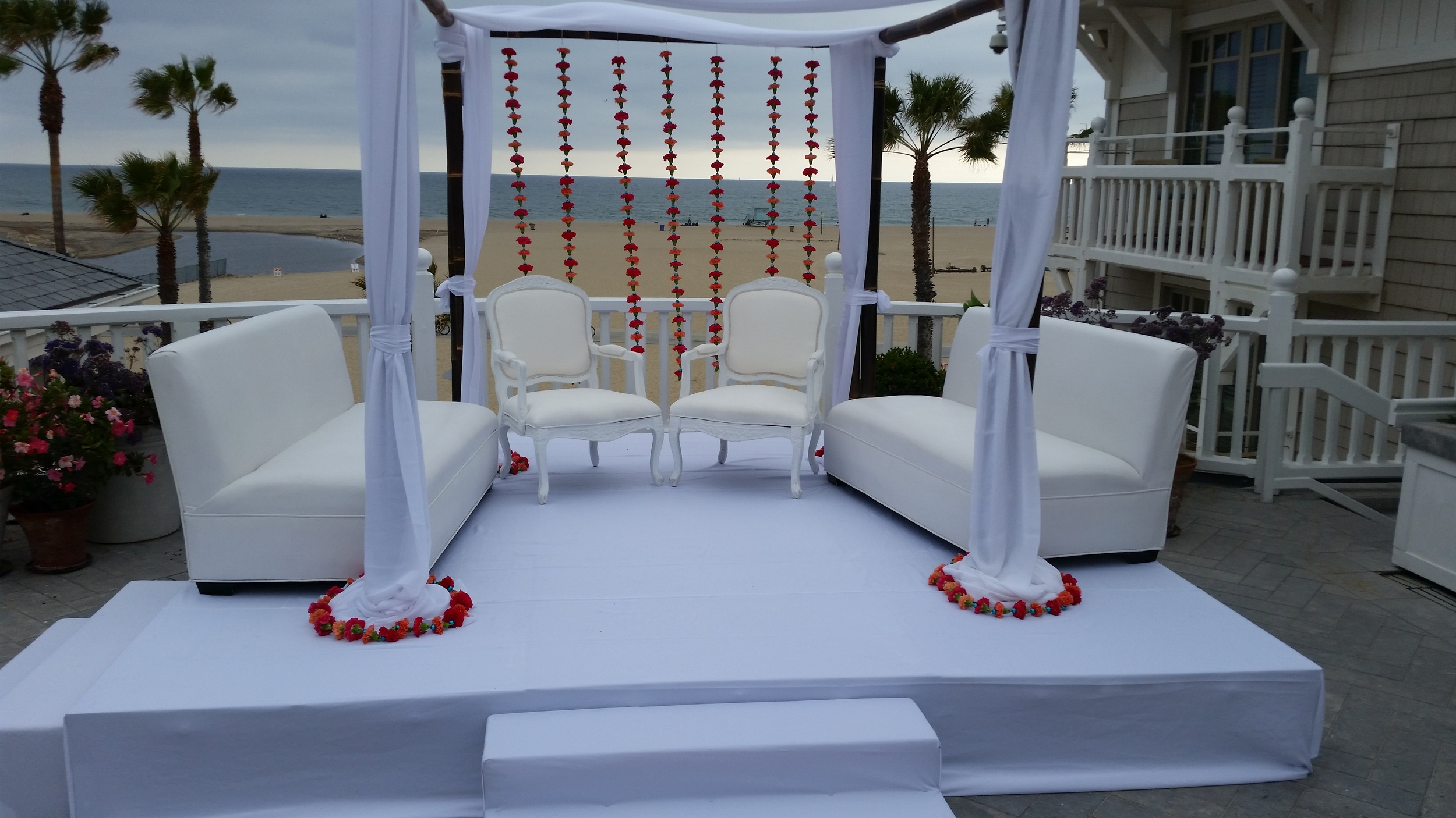 wedding rentals irvine