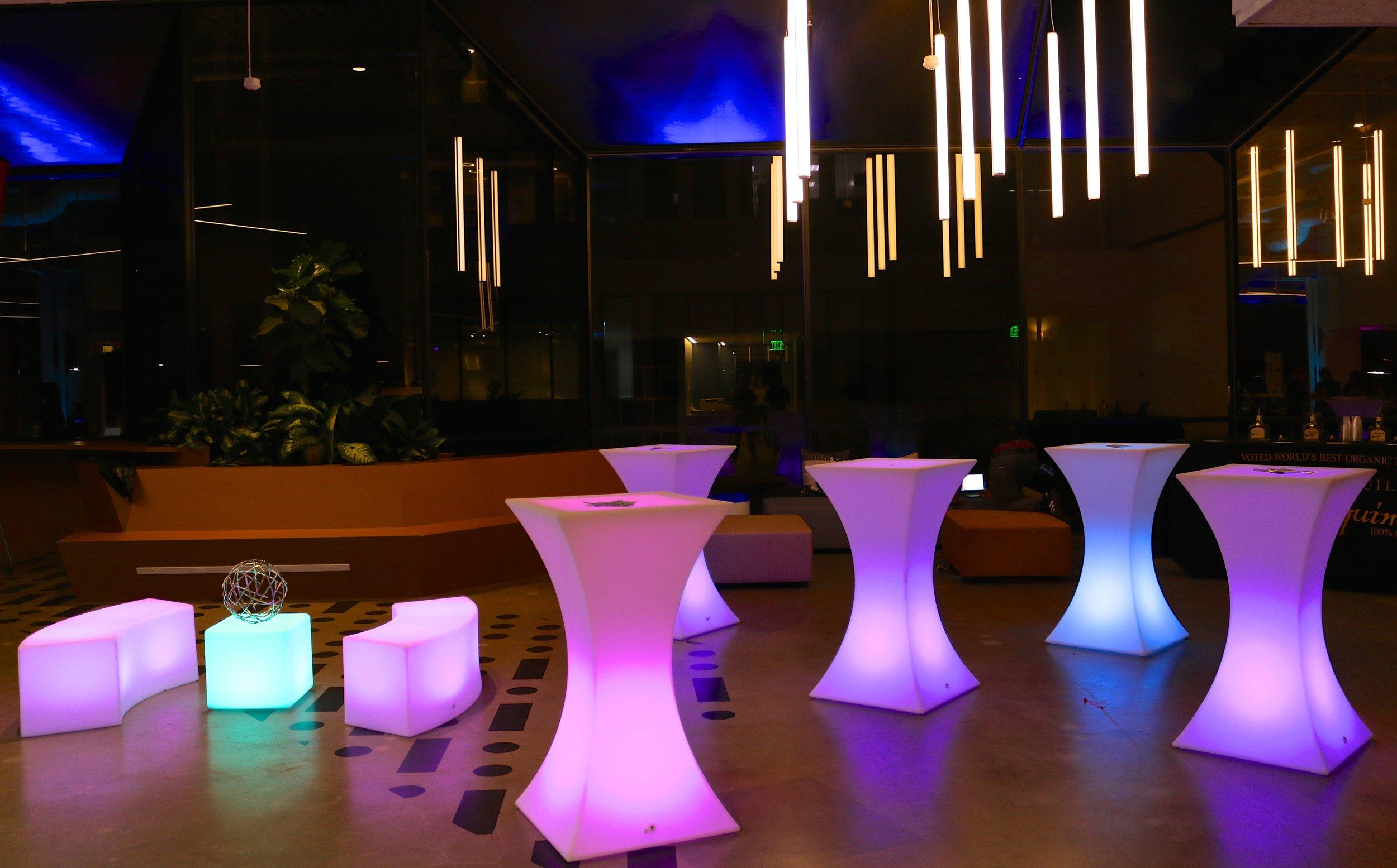 LED Furniture Rentals