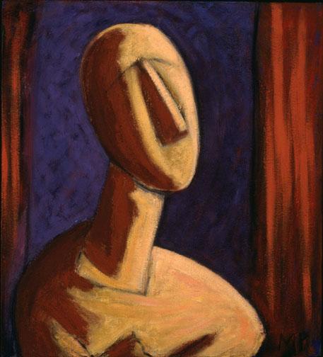 Cycladic Portrait II   1995
