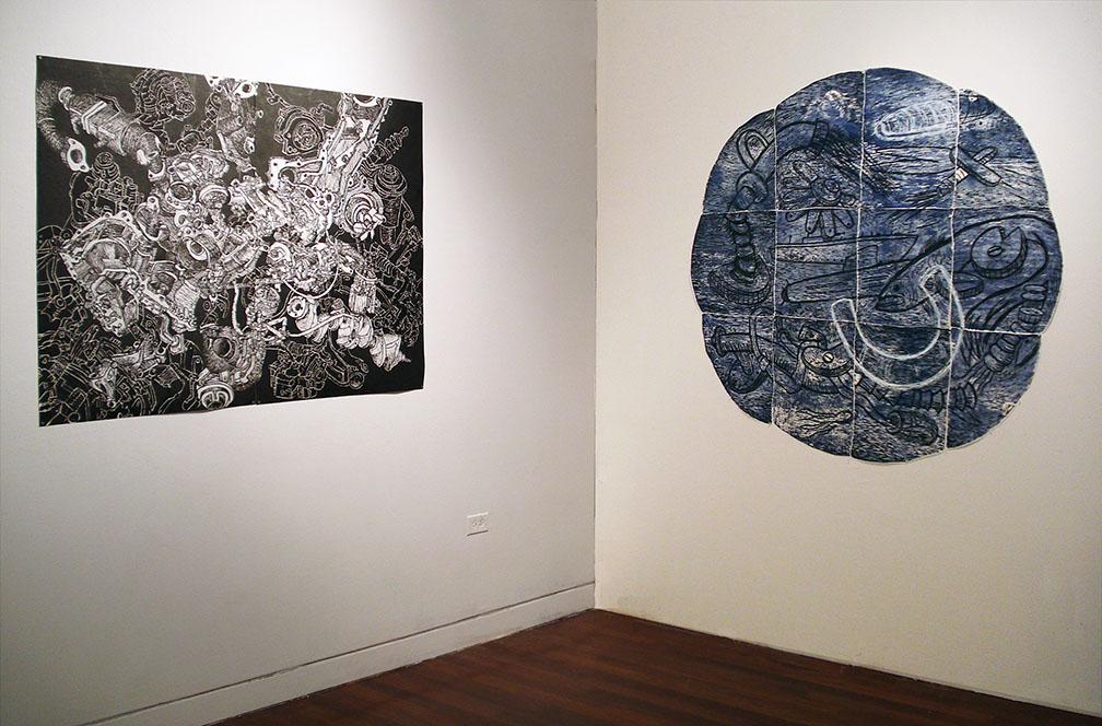 Industrial Reconstructions, 2012. LeRoy Neiman Gallery, Columbia University School of the Arts NYC