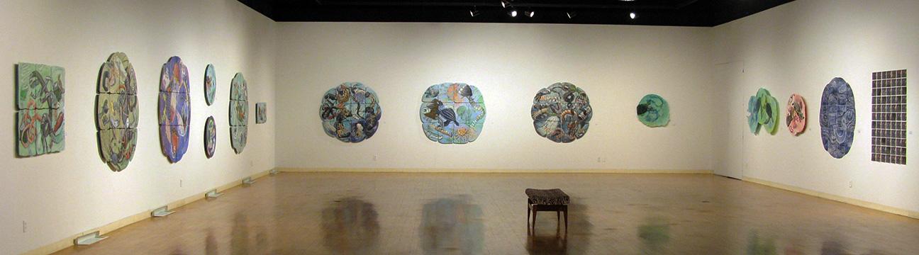 David Jones and Marilyn Propp: Confluence/Undercurrents, 2014. Illinois Wesleyan University, Merwin Gallery, Bloomington, IL