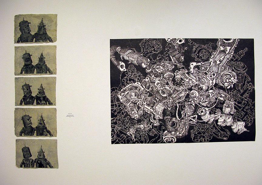 Confluence/Undercurrents, 2014. Illinois Wesleyan University, Merwin Gallery, Bloomington, IL