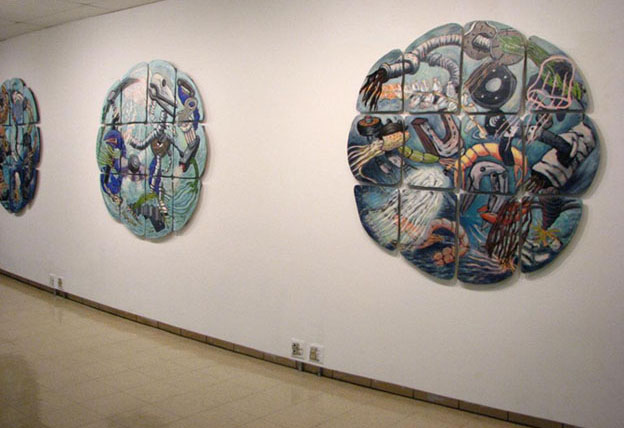 David Jones/Marilyn Propp: Industrial Reconstructions, 2011. Moreau Galleries, Saint Mary's College, Notre Dame, IN