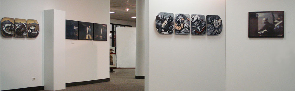 Roadtrips and Shadowplay: David Jones and Marilyn Propp, 2009. State St. Gallery, Robert Morris University, Chicago, IL