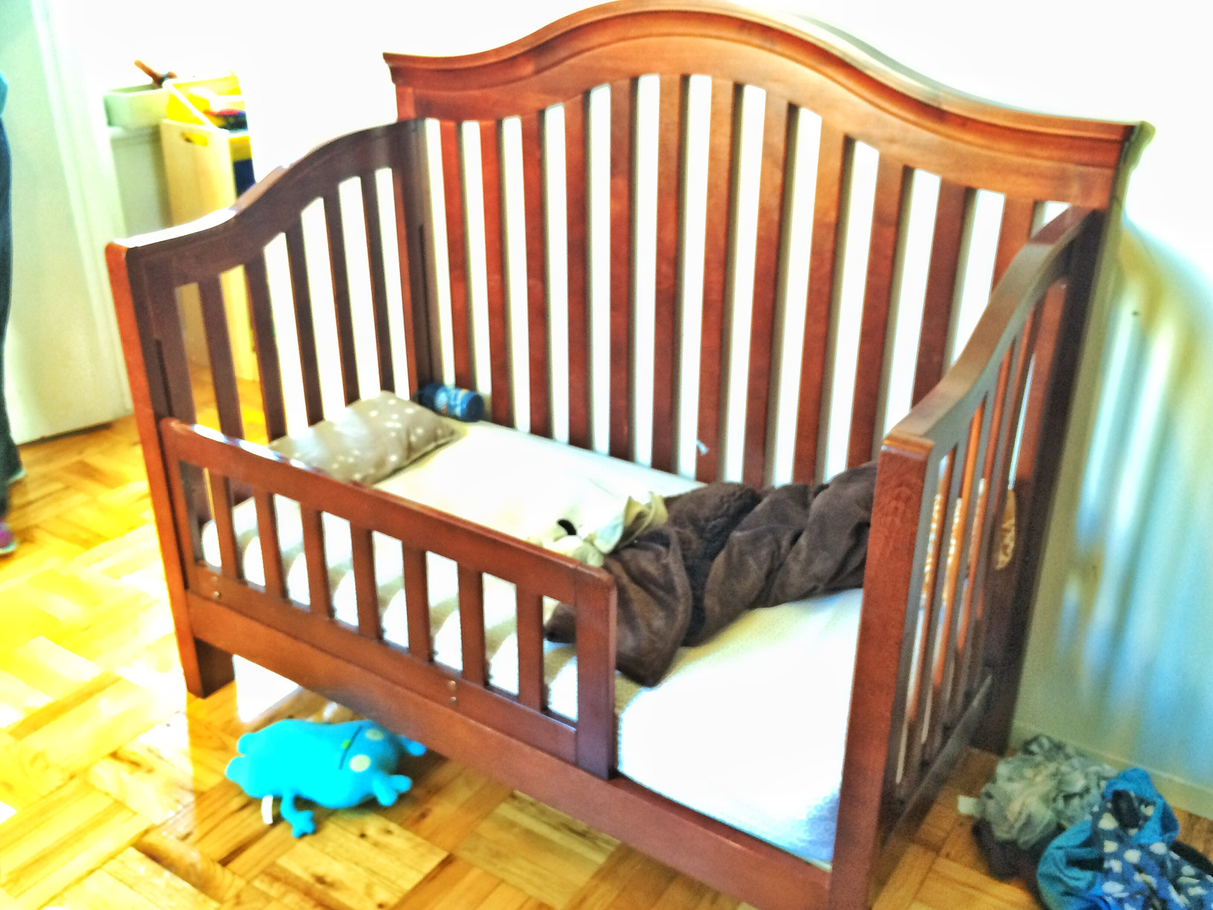 Crib before