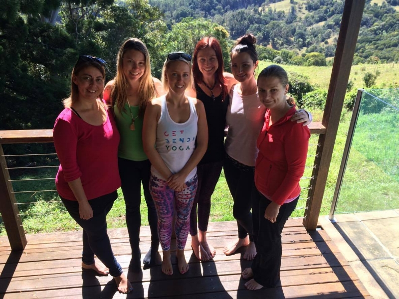 The beautiful women at the end of my first REPLENISH RETREAT - look how relaxed and happy they are!