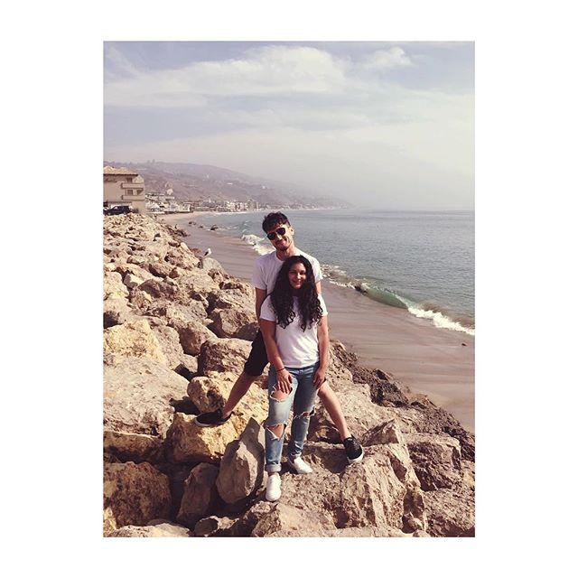 Weekends in Malibu with my best friend ☀️