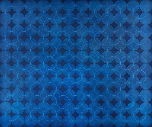 Eveline Kotai - Helio Blue 2006, 152x185, oil on canvas, collection of artist