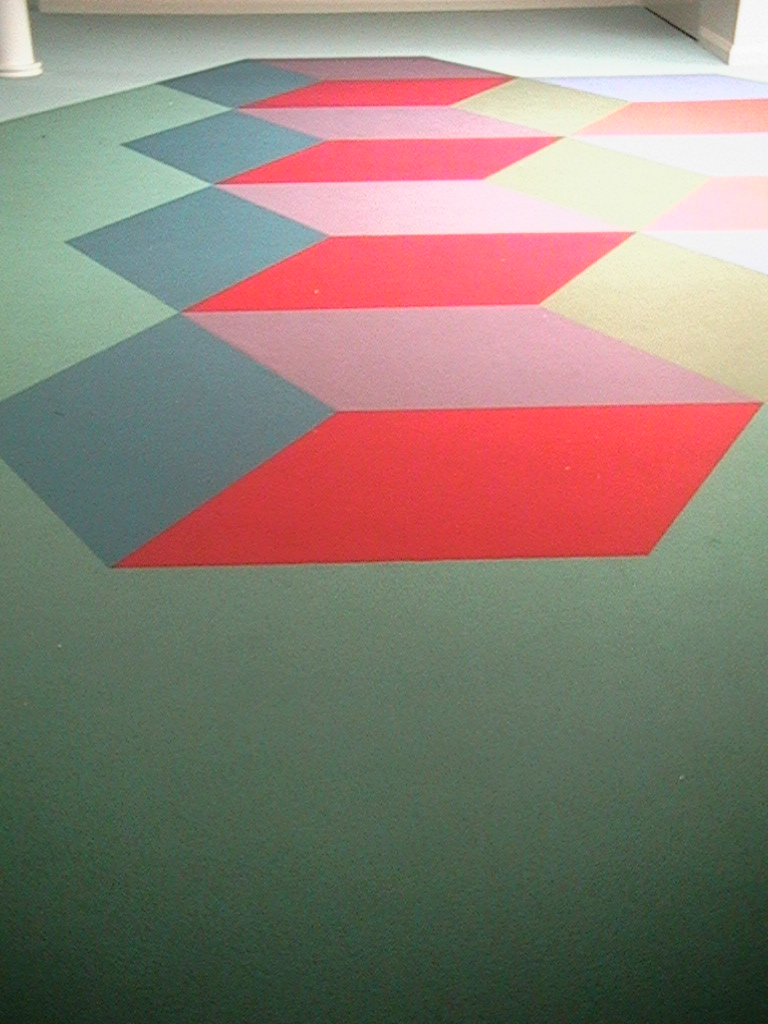 Eveline Kotai - Flotex Carpet Design - All Saints College 2003. Architects: Darryl Way and Associates