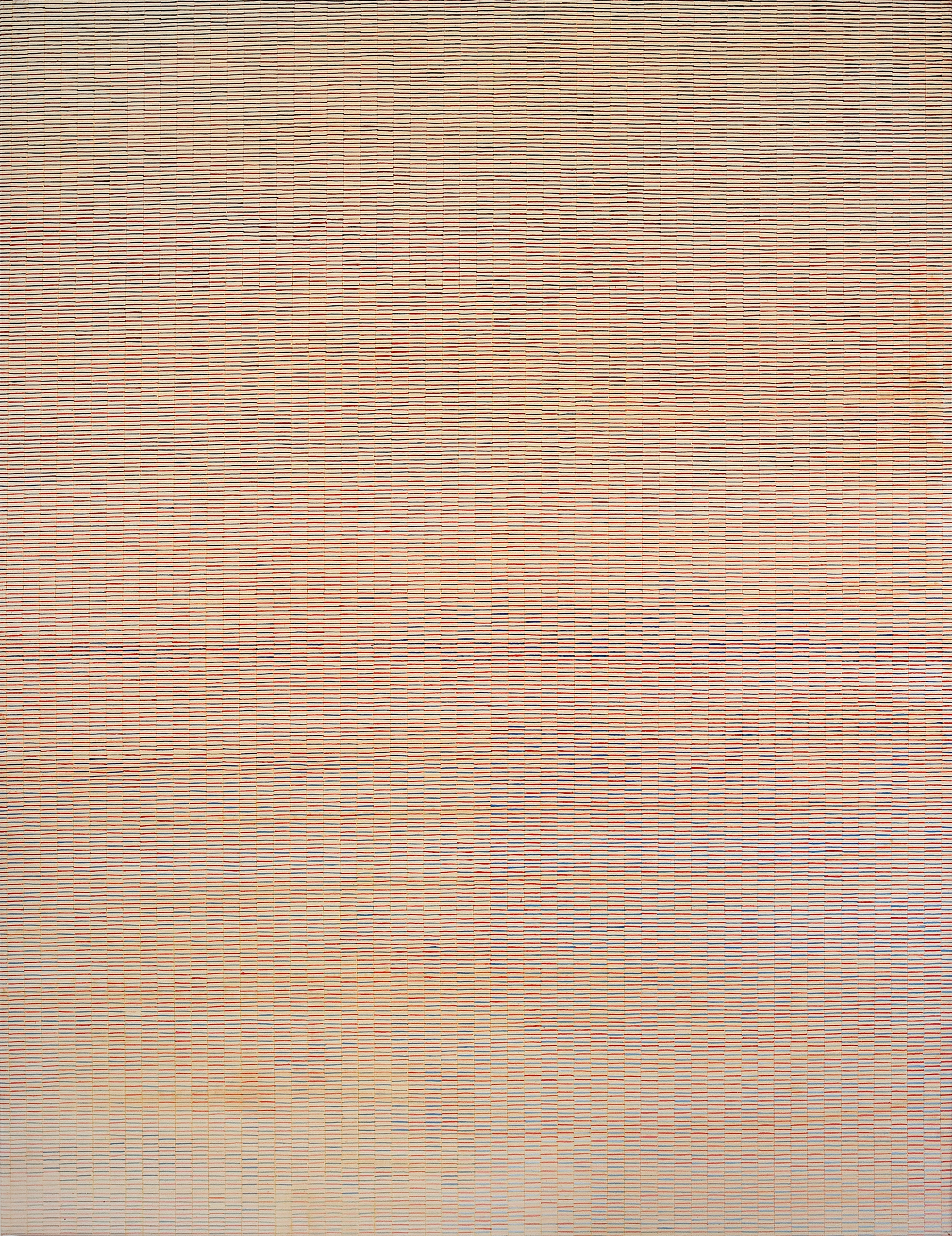 2009 Breathing Pattern #2. Acrlic on canvas, 1150x150cm  .jpg