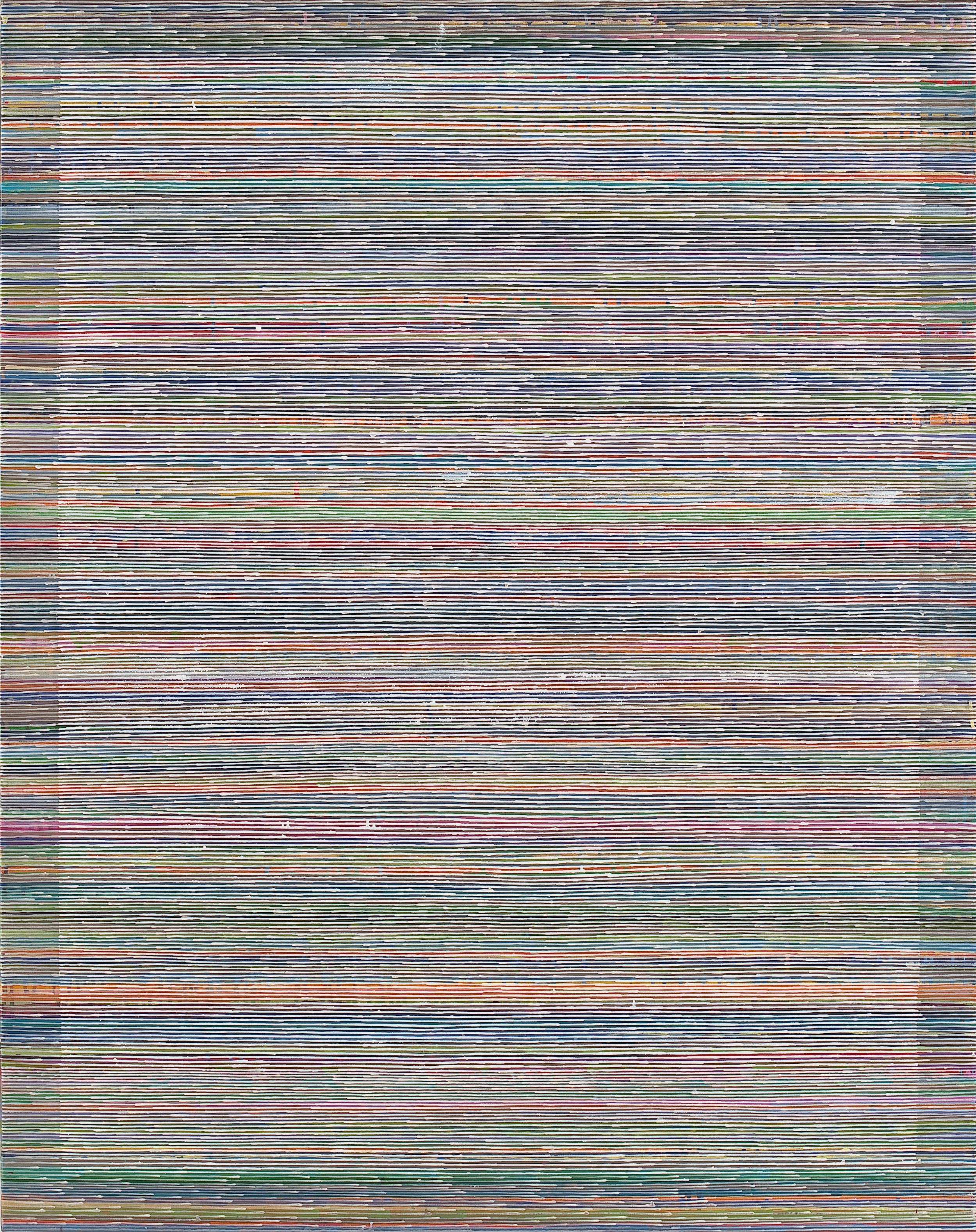 2009 Breathing Pattern #1. Oil on Linen. 1150x150cm  .jpg