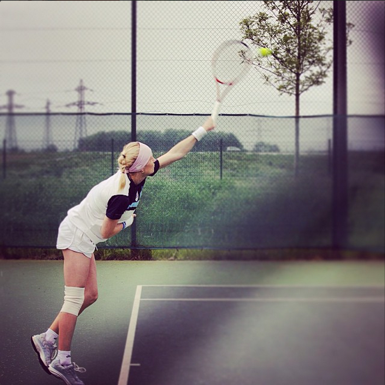 #24.  IE tennis, before MBAT semifinals!  (via  yulzhu )