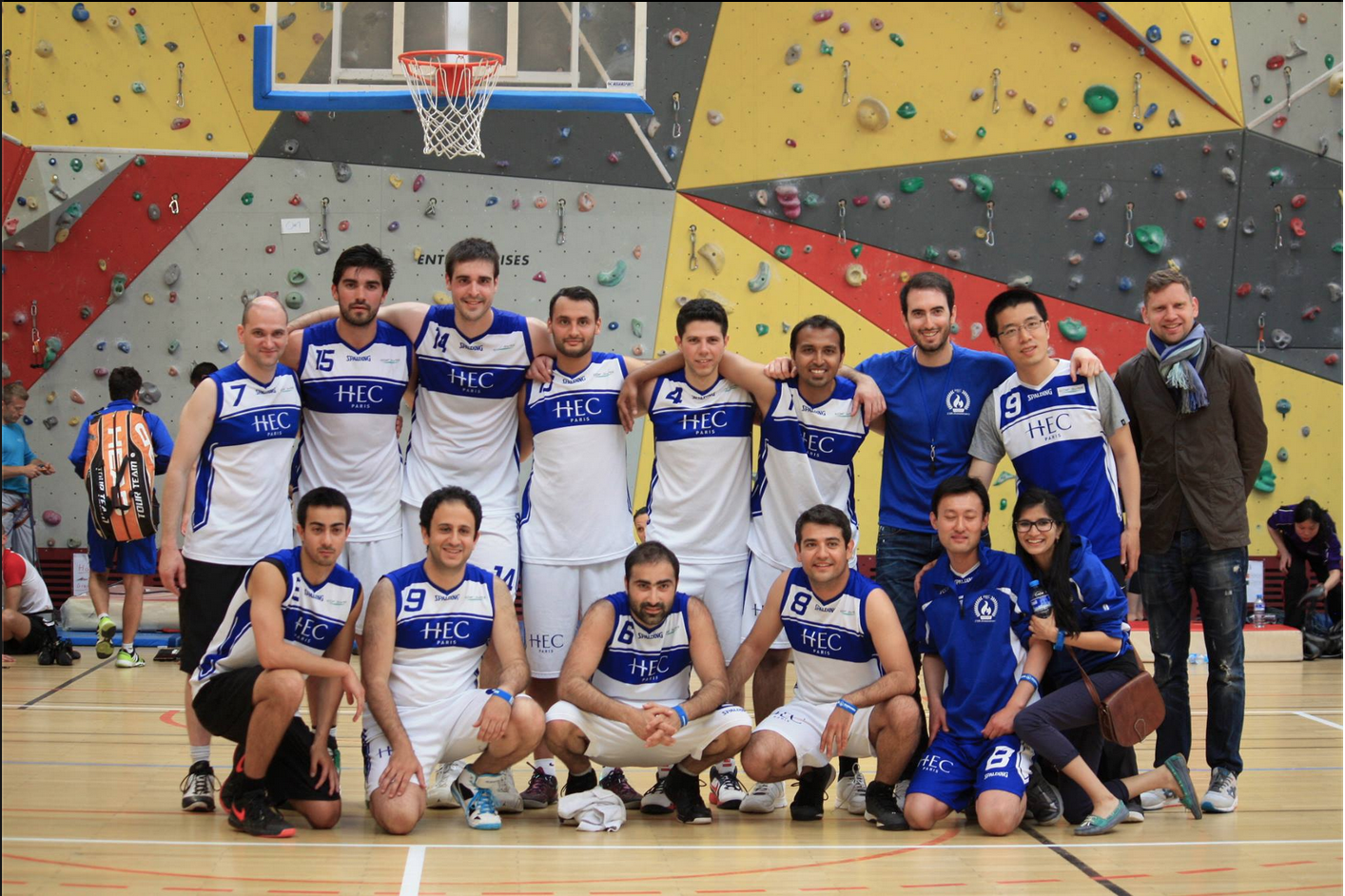 #36.  HEC Paris men's basketball team takes the gold.  (via  hecparismba )