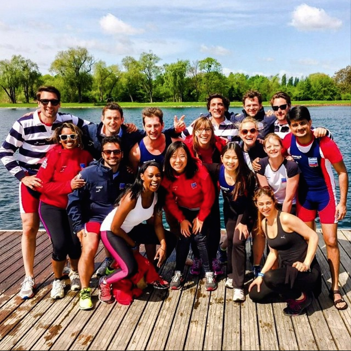 #34.  Rowing crew from London Business School.  (via  lbsmbat2015 )