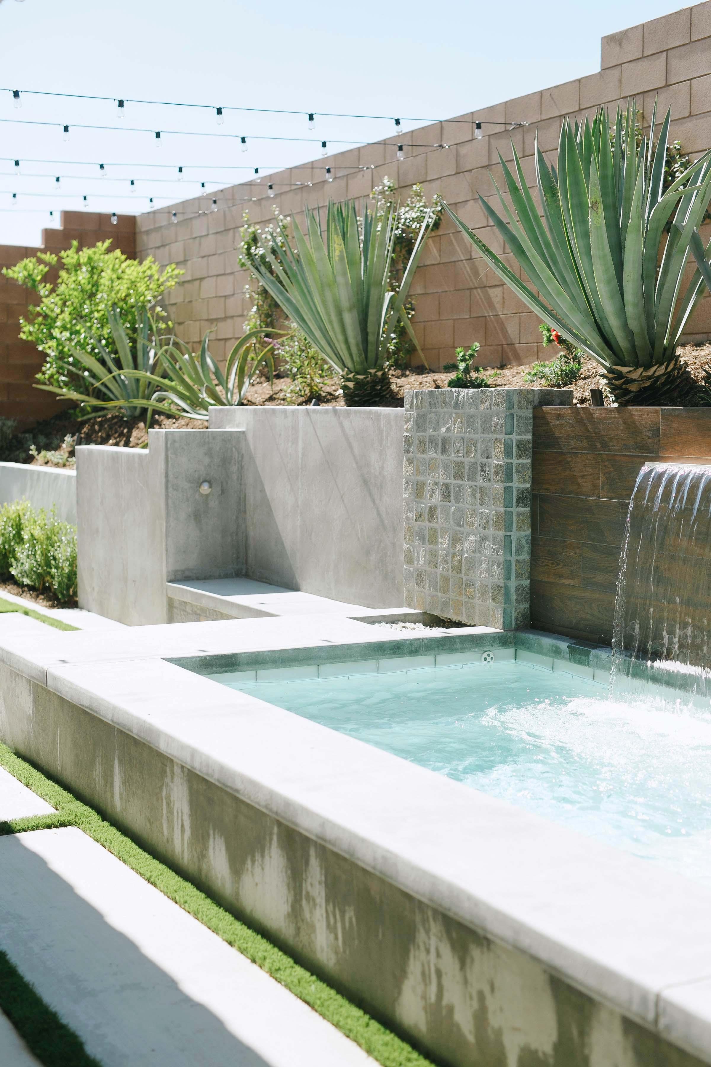 Promise Tangeman modern backyard