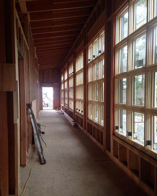 Windows in at the #bridgehouse