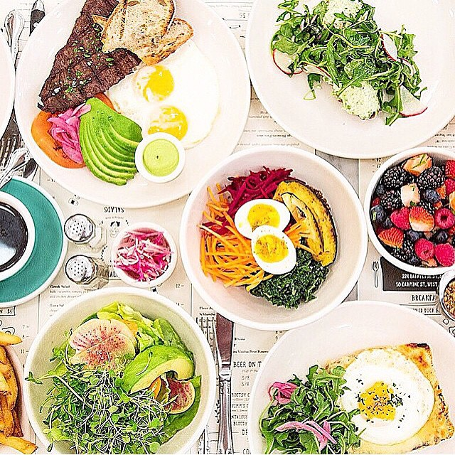 Saying hi to #Soho and having the good #Organic #NYC brunch 👌⭐️🍒