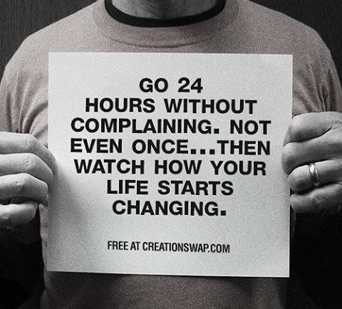 Quit complaining ⭐️ #Mindaway #mood #meditation