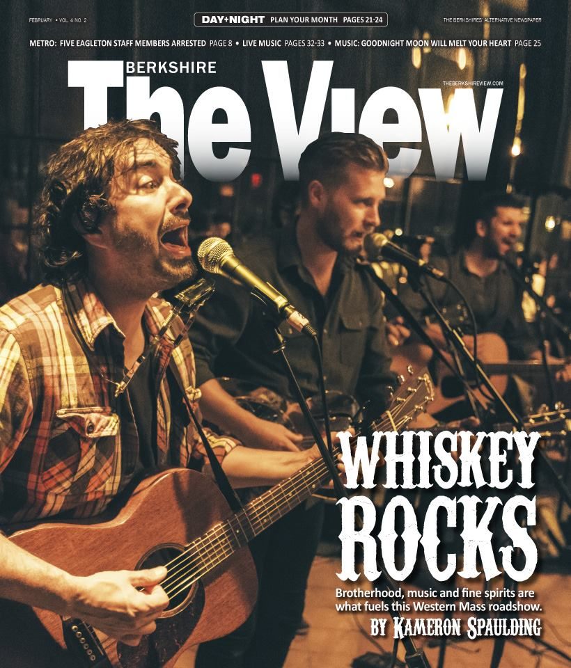 Cover of the February edition of The Berkshire View. Photo: Leo Mascaro