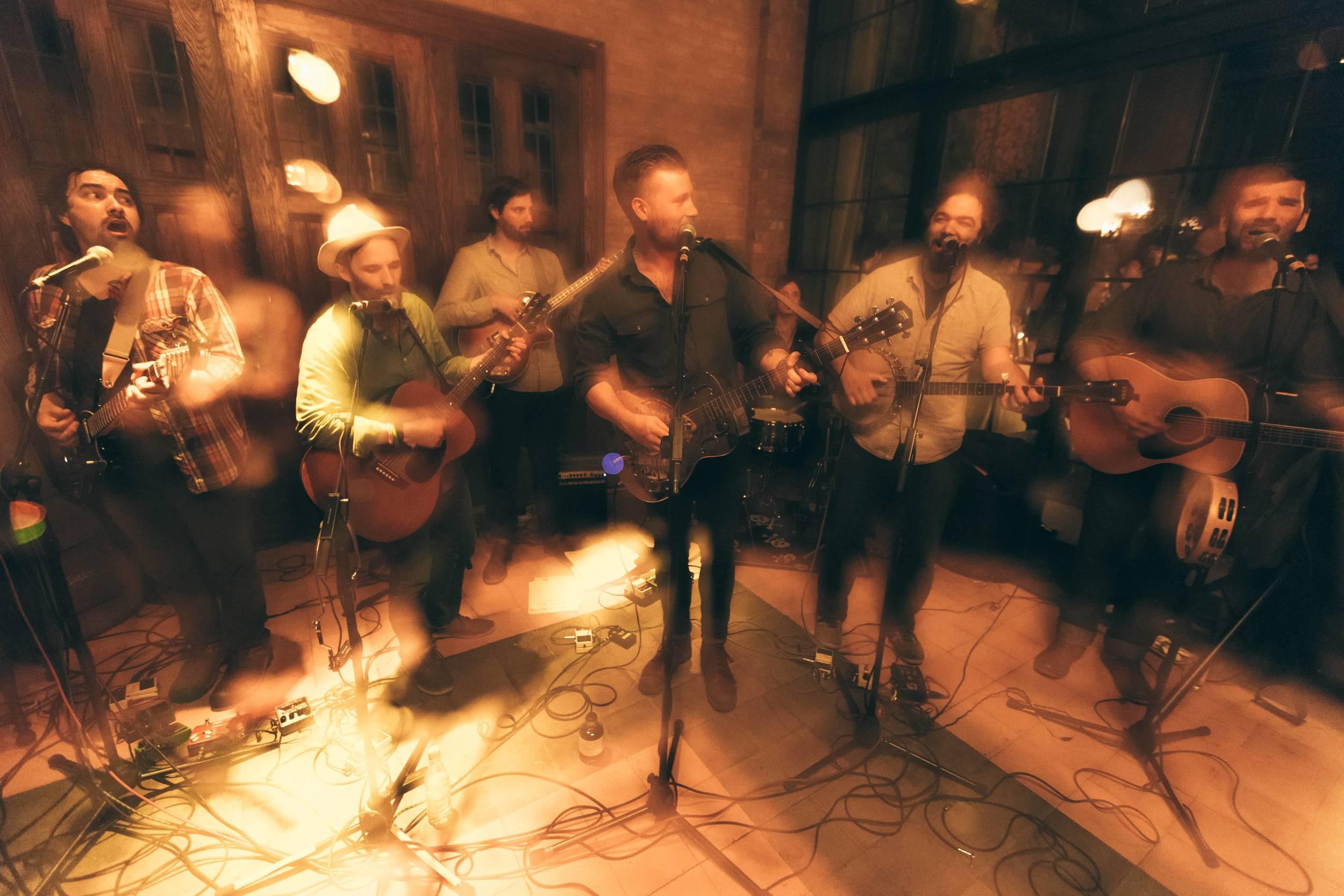 The Whiskey Treaty Roadshow performs at The Bowery Hotel, NYC. Photo: Leo Mascaro