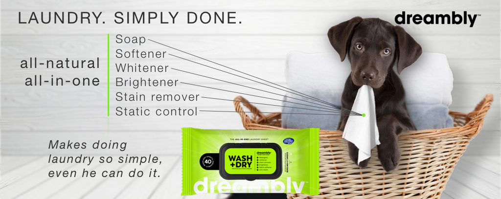 dreambly all-in-one laundry sheet