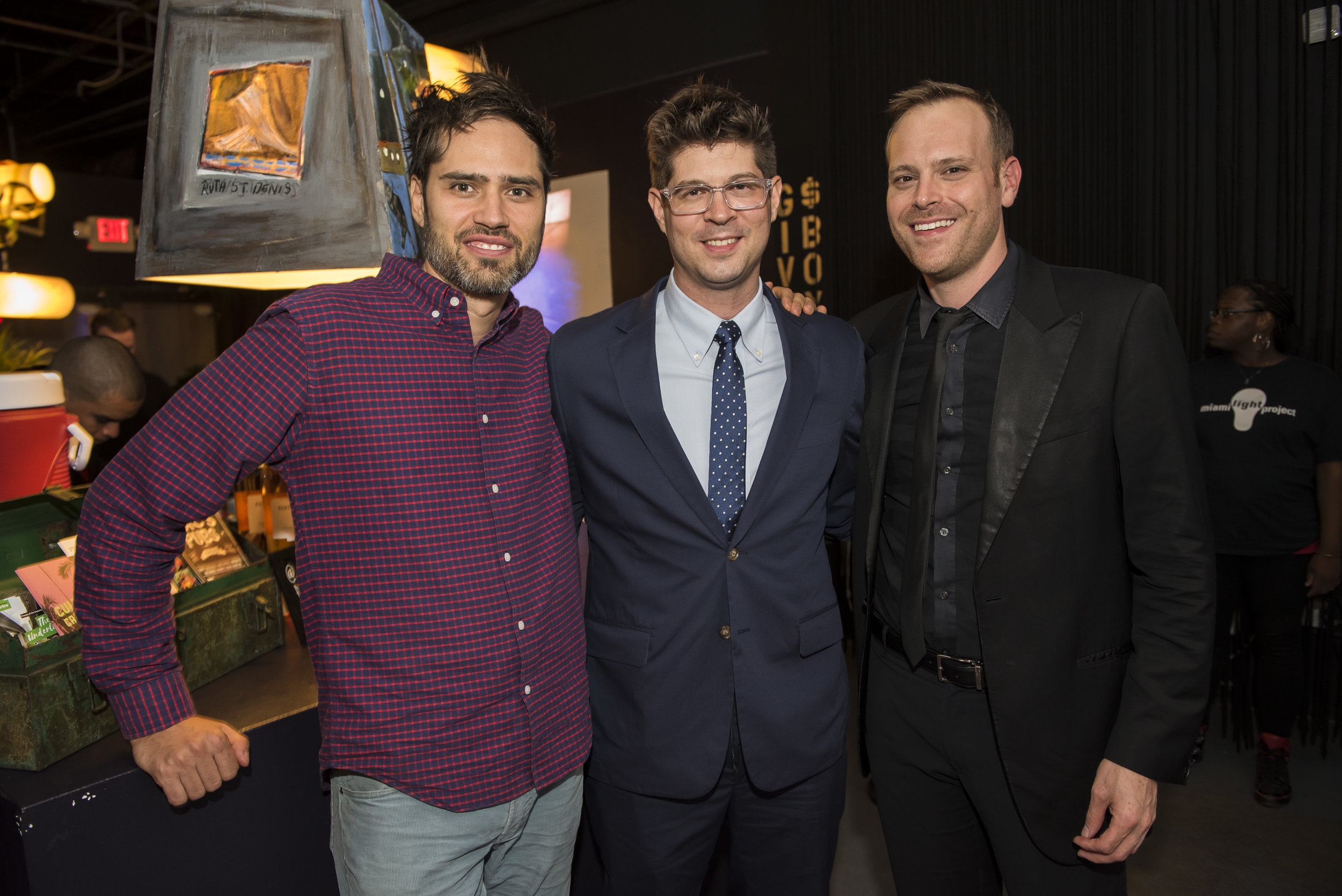 From Left to Right: William Brittelle, Adam Schoenberg, Aaron Merritt Photo Credit: Alex Markow Photography