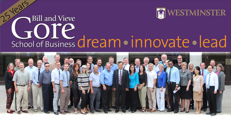 The Center for Innovative Cultures is part of the   Bill and Vieve Gore School of Business   at   Westminster College  .