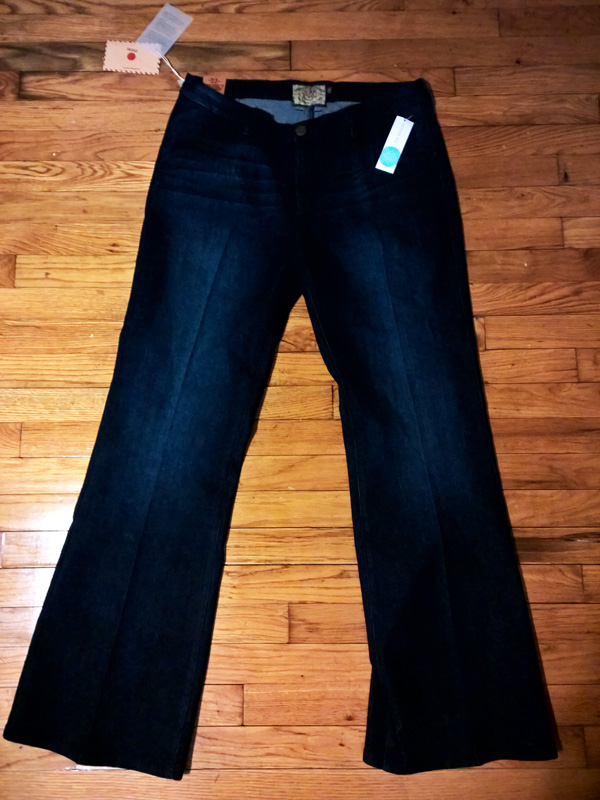 Dear John Marson Wide Leg Denim Trouser $78 - REJECT! A little too pricey for me and these came WAY too big. I could fit two of me in these jeans.