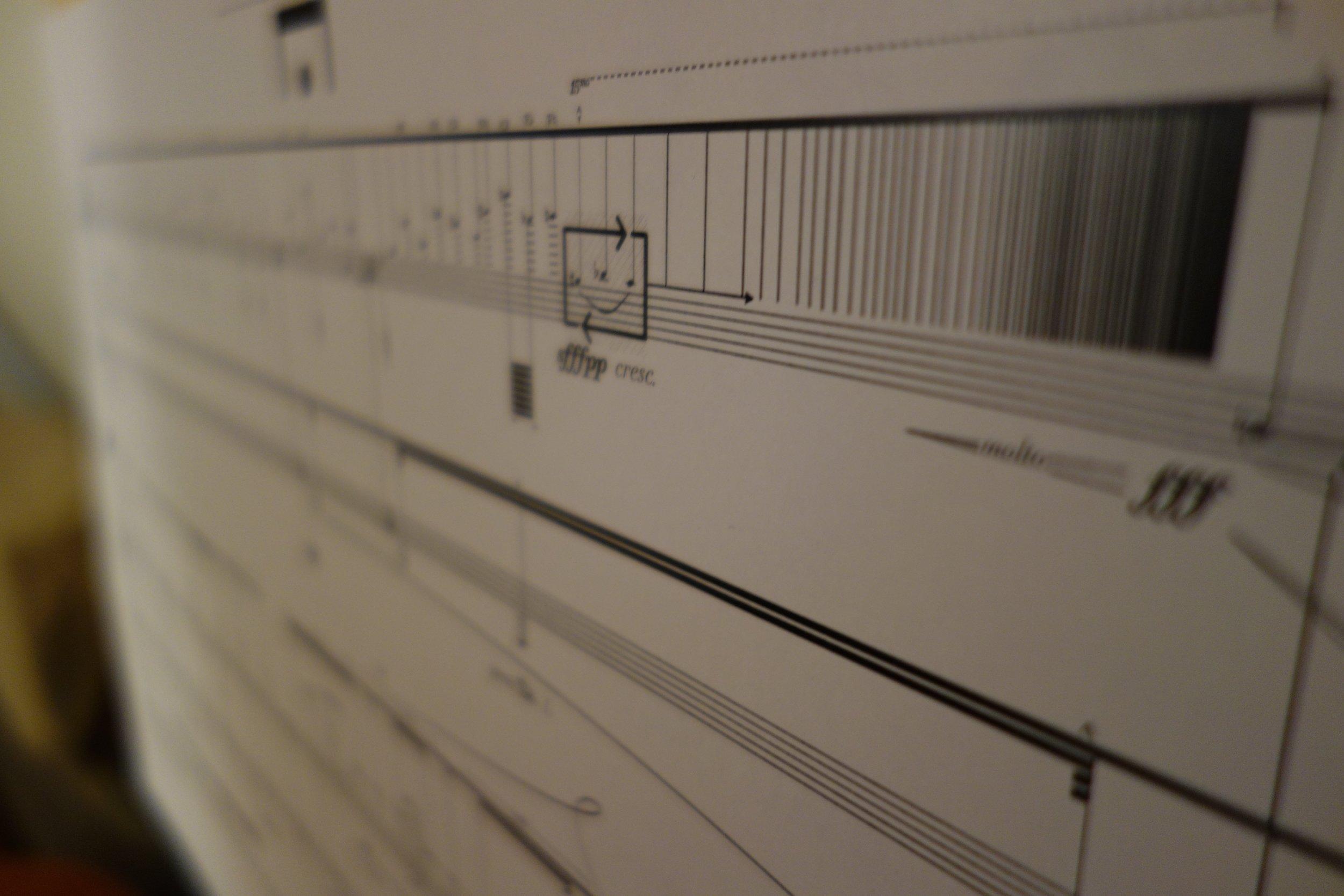 white as ash  [Orfeas I], for solo piano - 11' x 17', landscape
