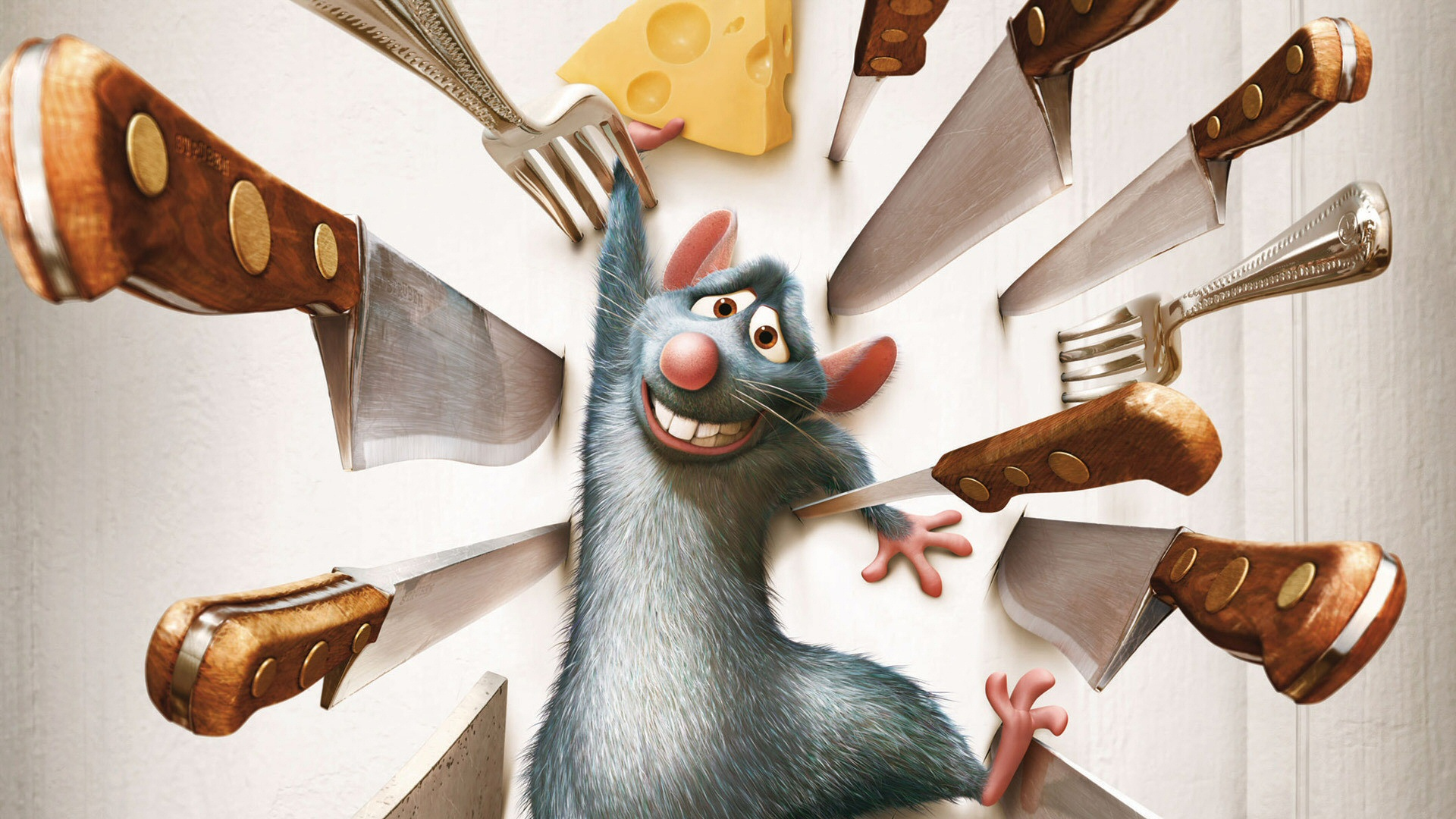 Yes, the first thing i thought of when I saw we were making Ratatouille was the movie