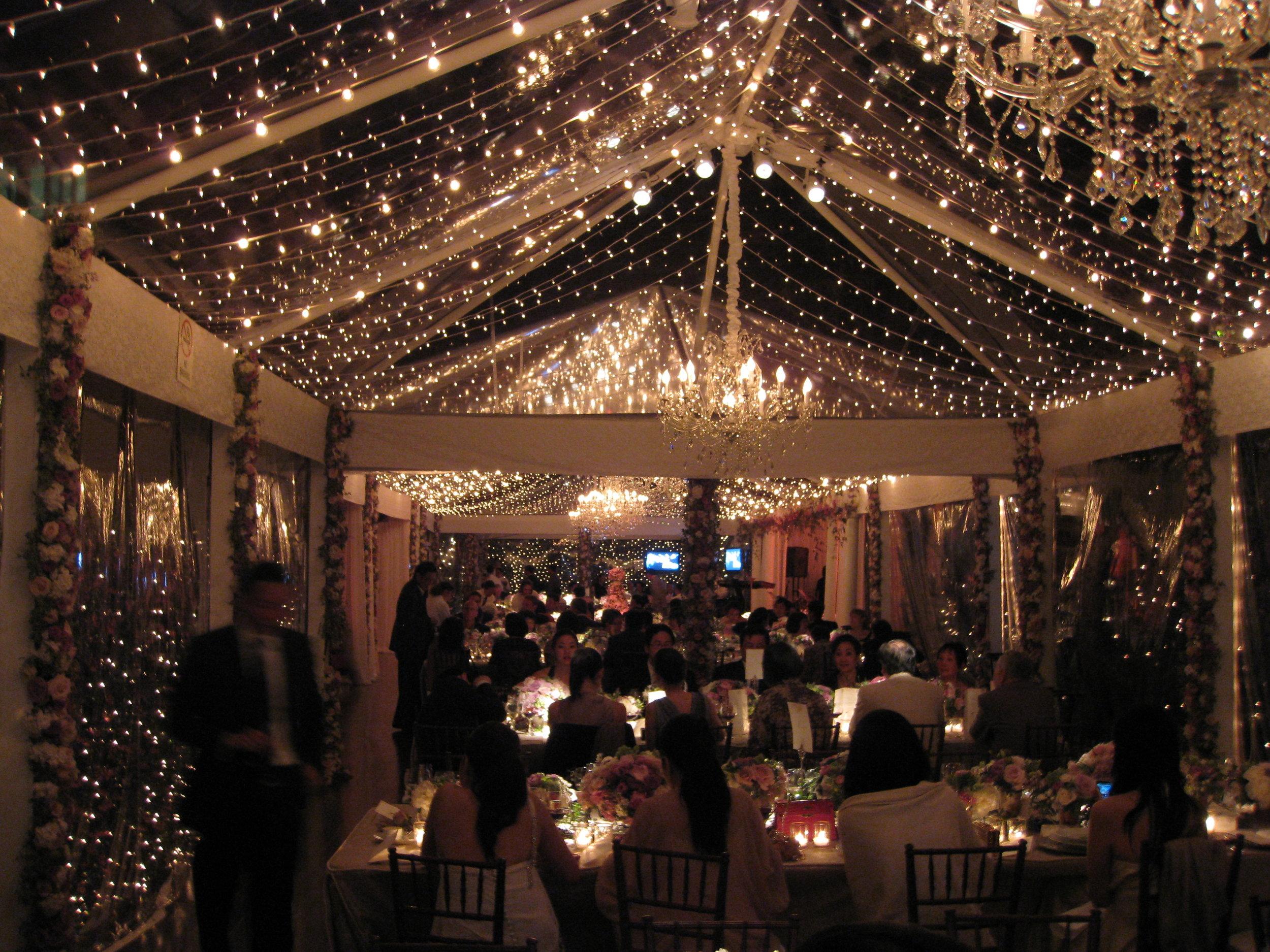 Wedding in Carmel  Preston Bailey / Robert Fountain Designs