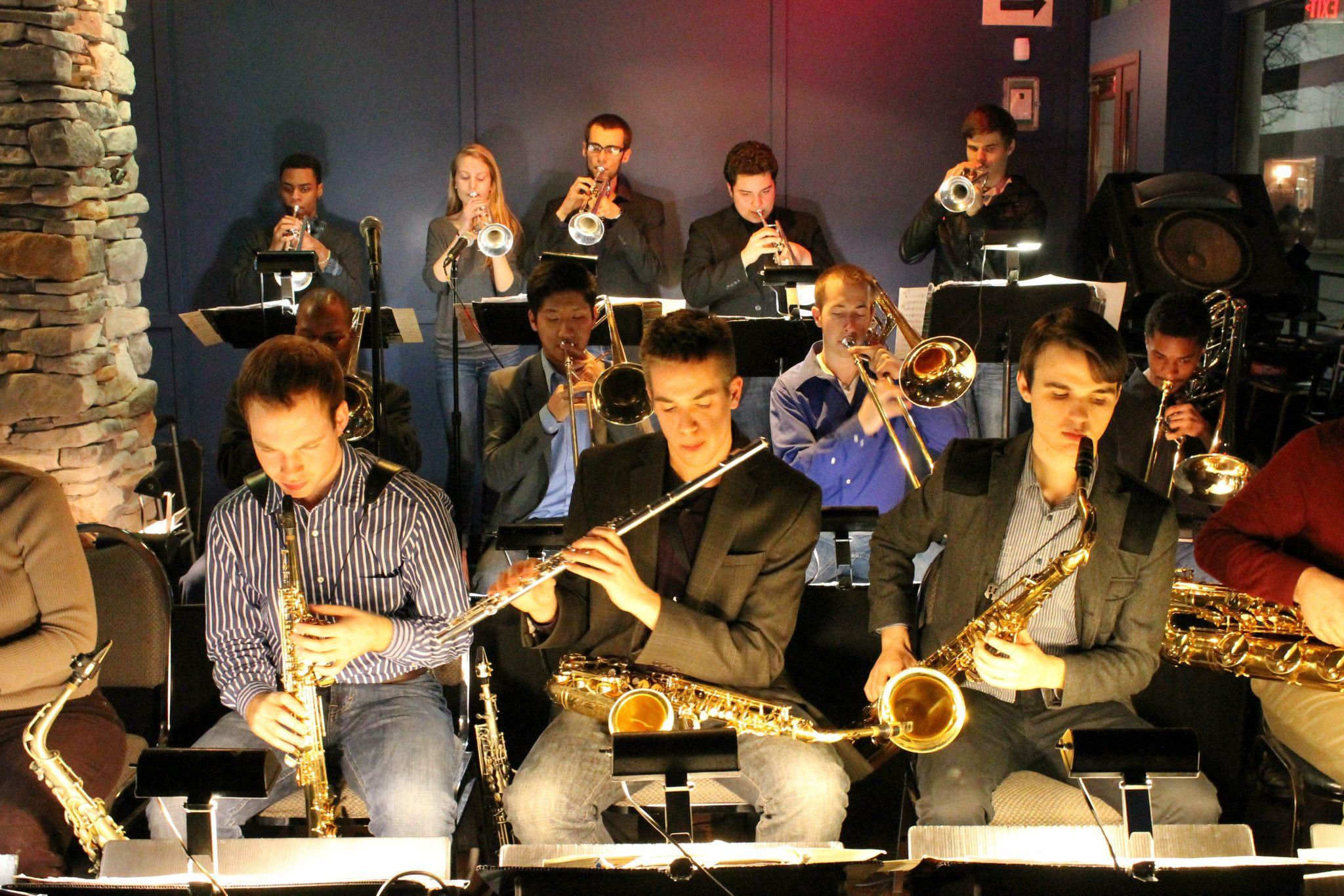 CCM Jazz Lab Band @ The Blue Wisp Jazz Club (2012)