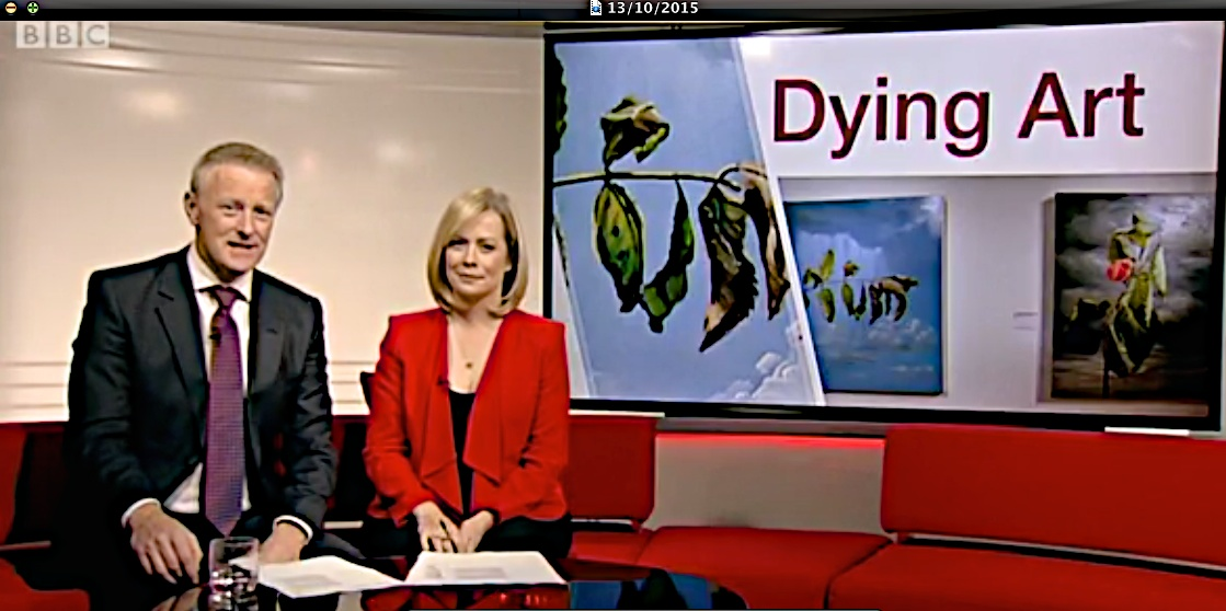"""BBC South East Today Feature on """"When Yellow Leaves"""" 13th October 2015"""
