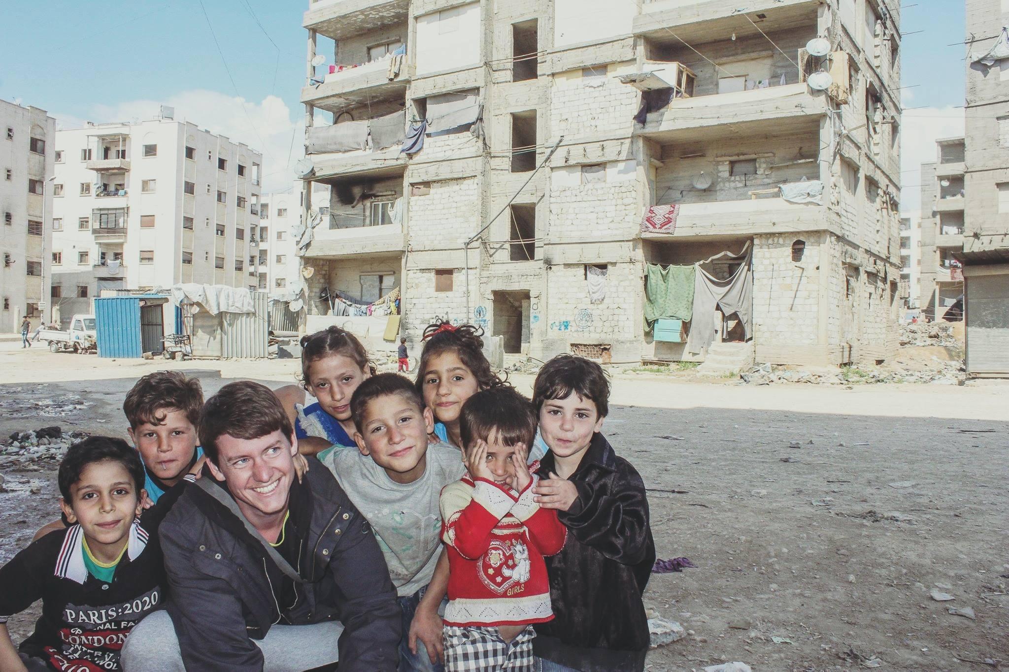 Pierre Le Corf, à Alep