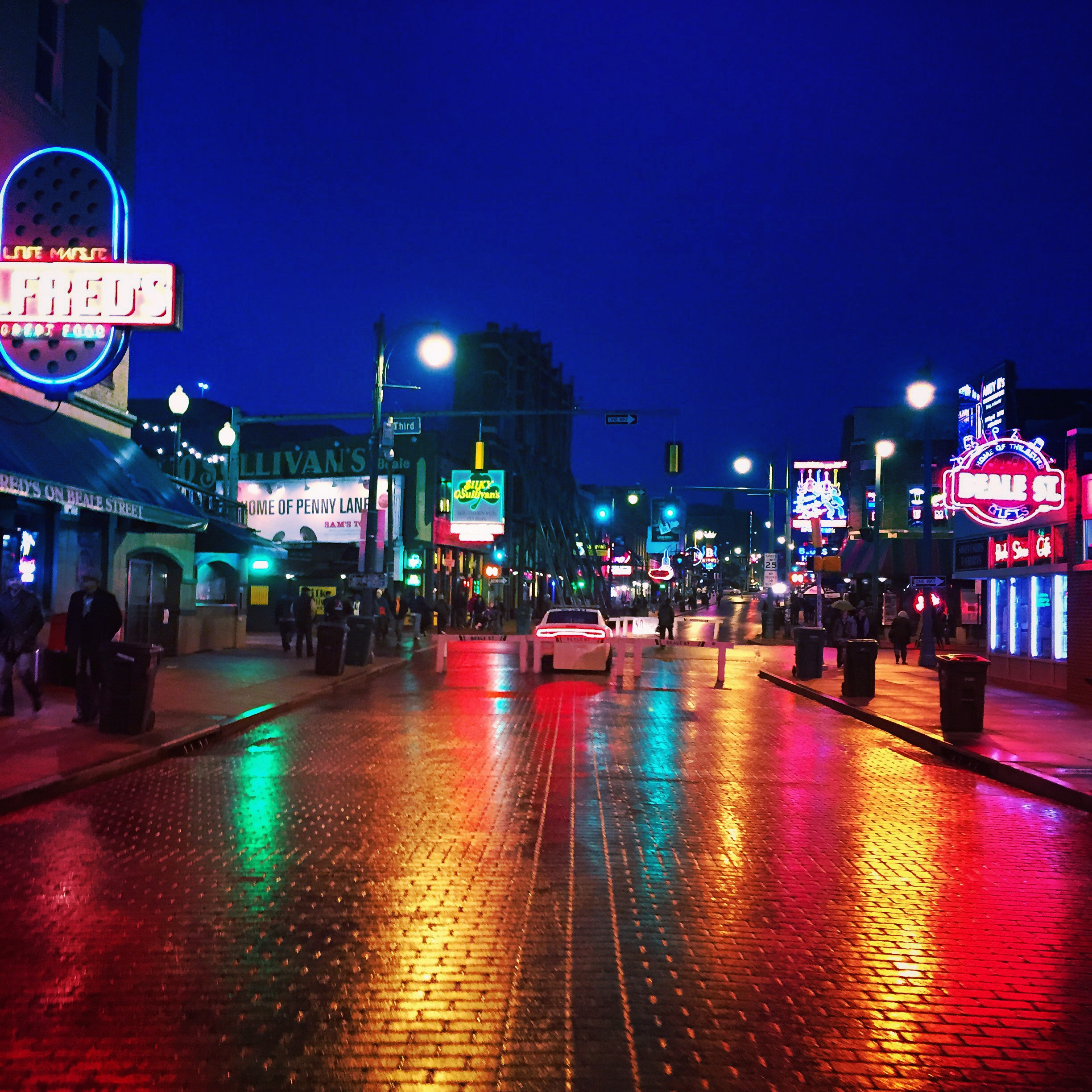 Beale Street after the rain. This seems to be  Steve Mack's  favorite, who I didn't seem to get a photo with so I'll link him  here . Steve is one of the nicest people I think I've ever met, and also a talented photographer!