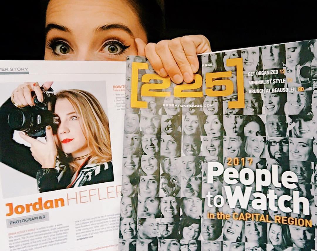 225 Magazine People to Watch in Baton Rouge 2017- Jordan Hefler