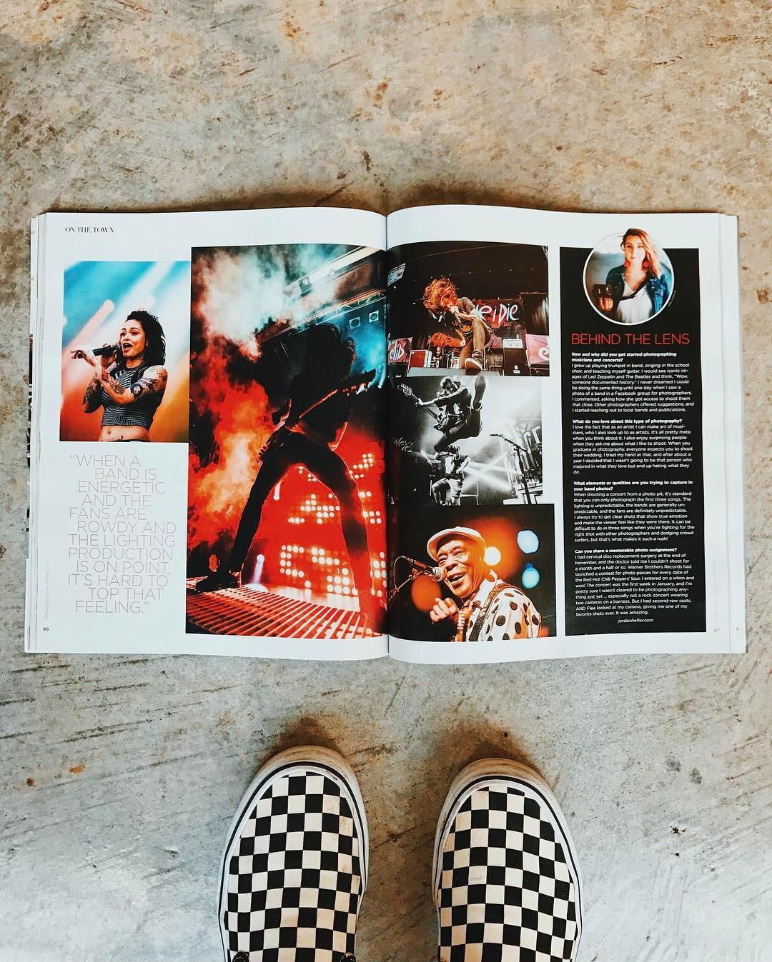 InRegister Magazine Concert Feature- Jordan Hefler
