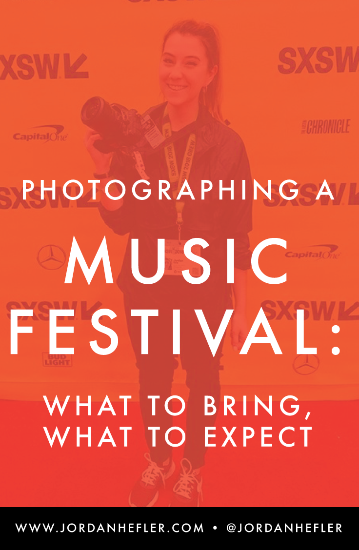 Photographing a Music Festival: What to Bring, What to Expect | Jordan Hefler