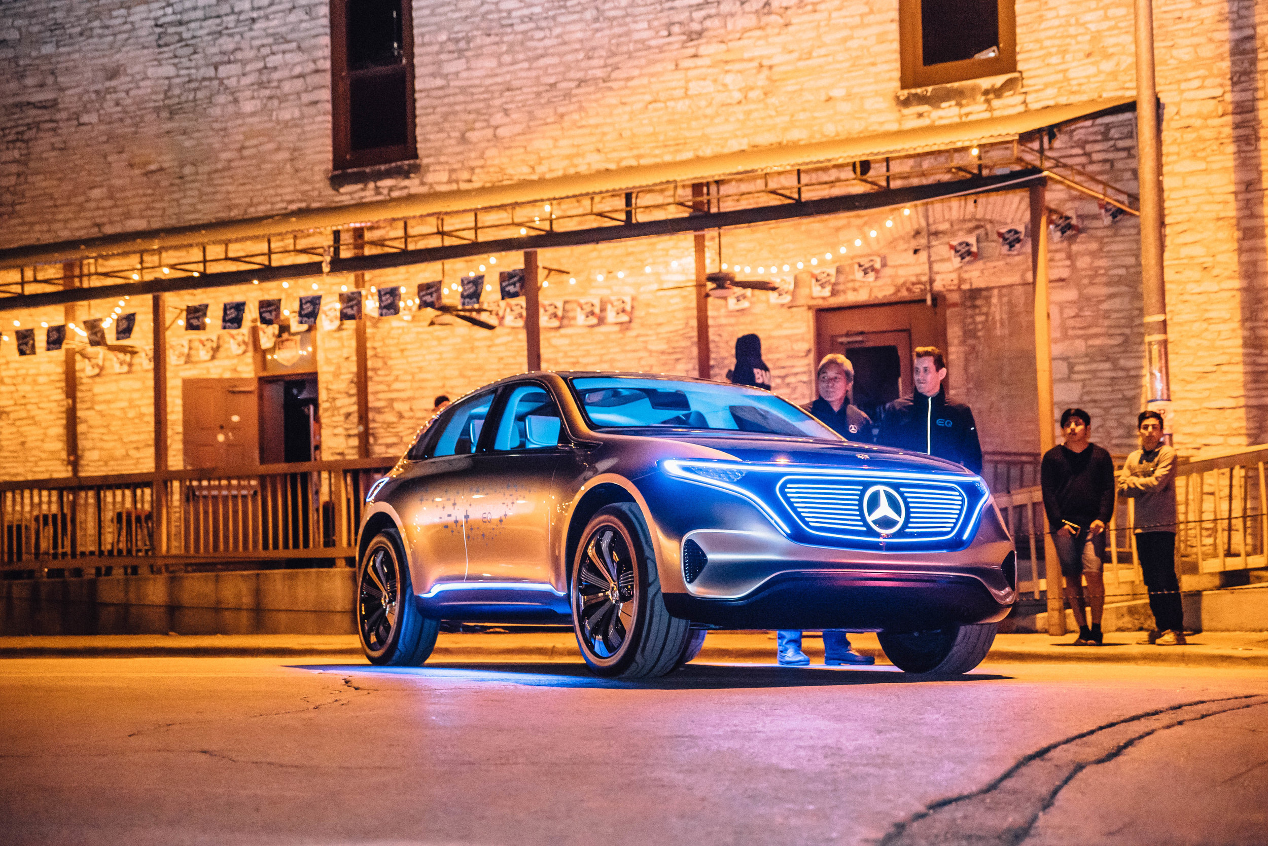 Concept EQ Mercedes at SXSW 2018 | Jordan Hefler