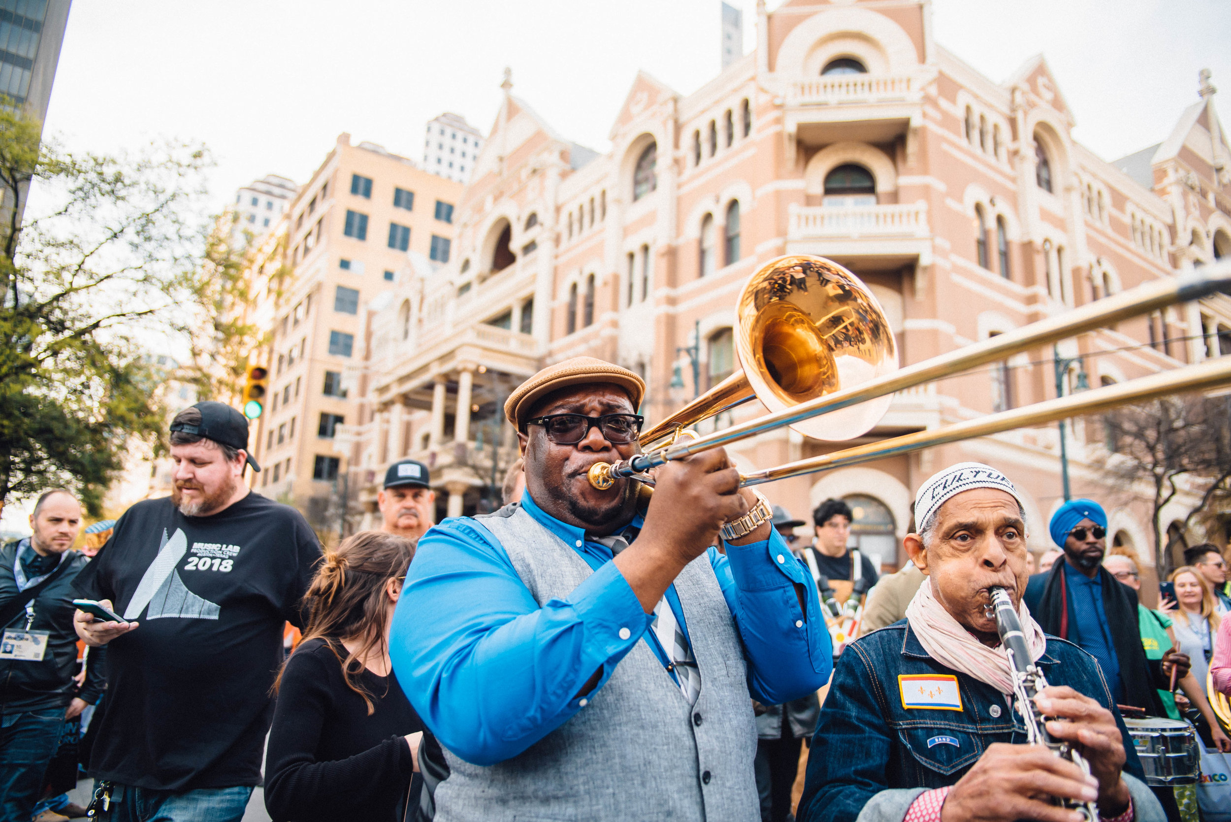 Preservation Hall Secondline at SXSW 2018 | Jordan Hefler