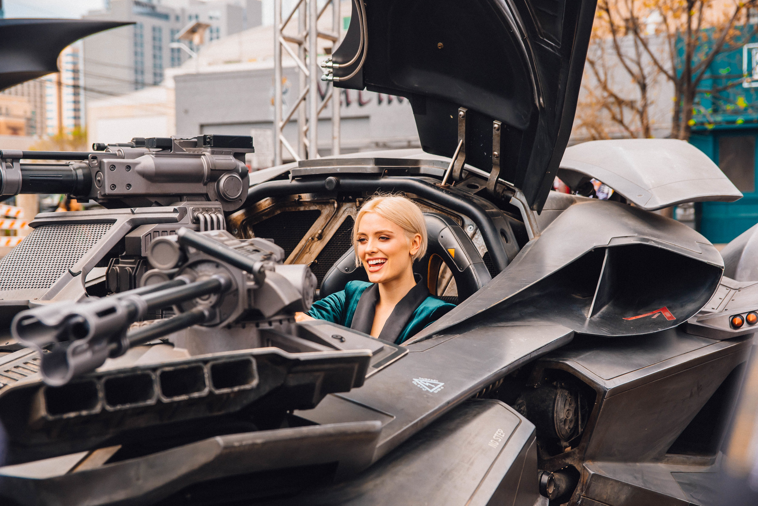 Wallis Day at DC Comics event at SXSW 2018 | Jordan Hefler