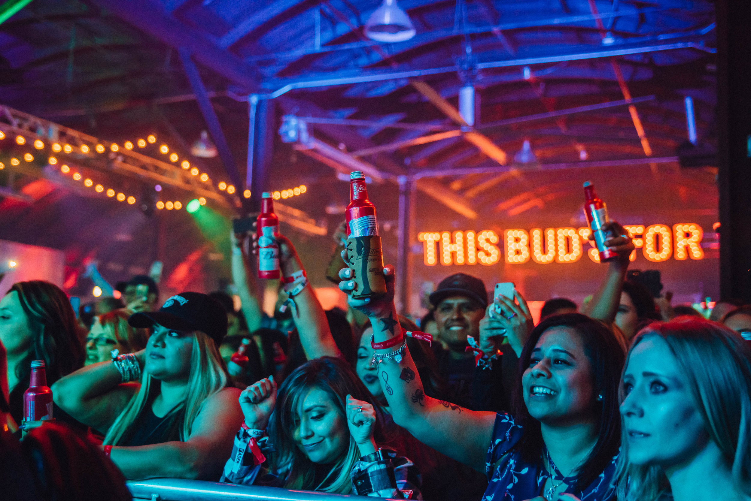Budweiser party at SXSW 2018 | Jordan Hefler