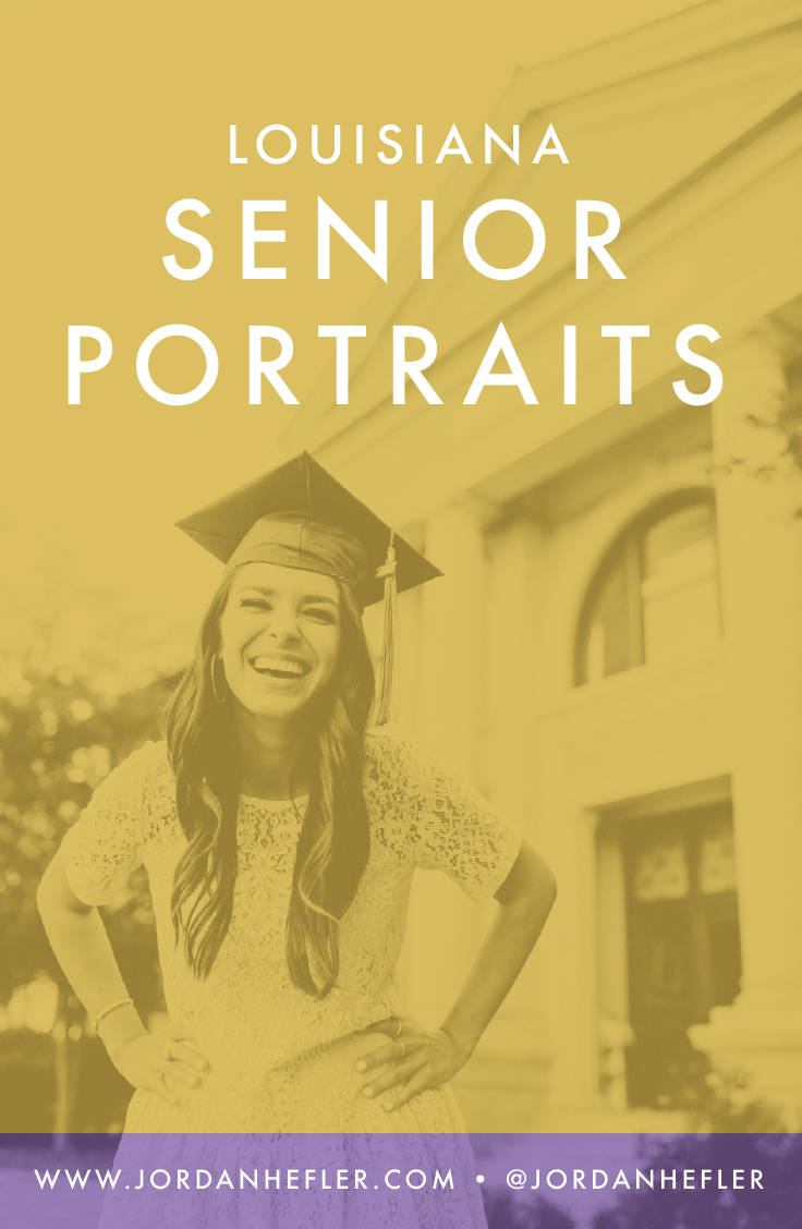 LSU Senior Portraits in Baton Rouge, Louisiana | Jordan Hefler