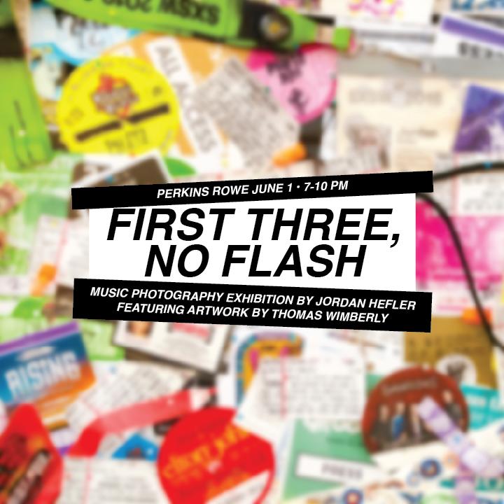 First Three, No Flash | Music Photography Exhibition by Jordan Hefler