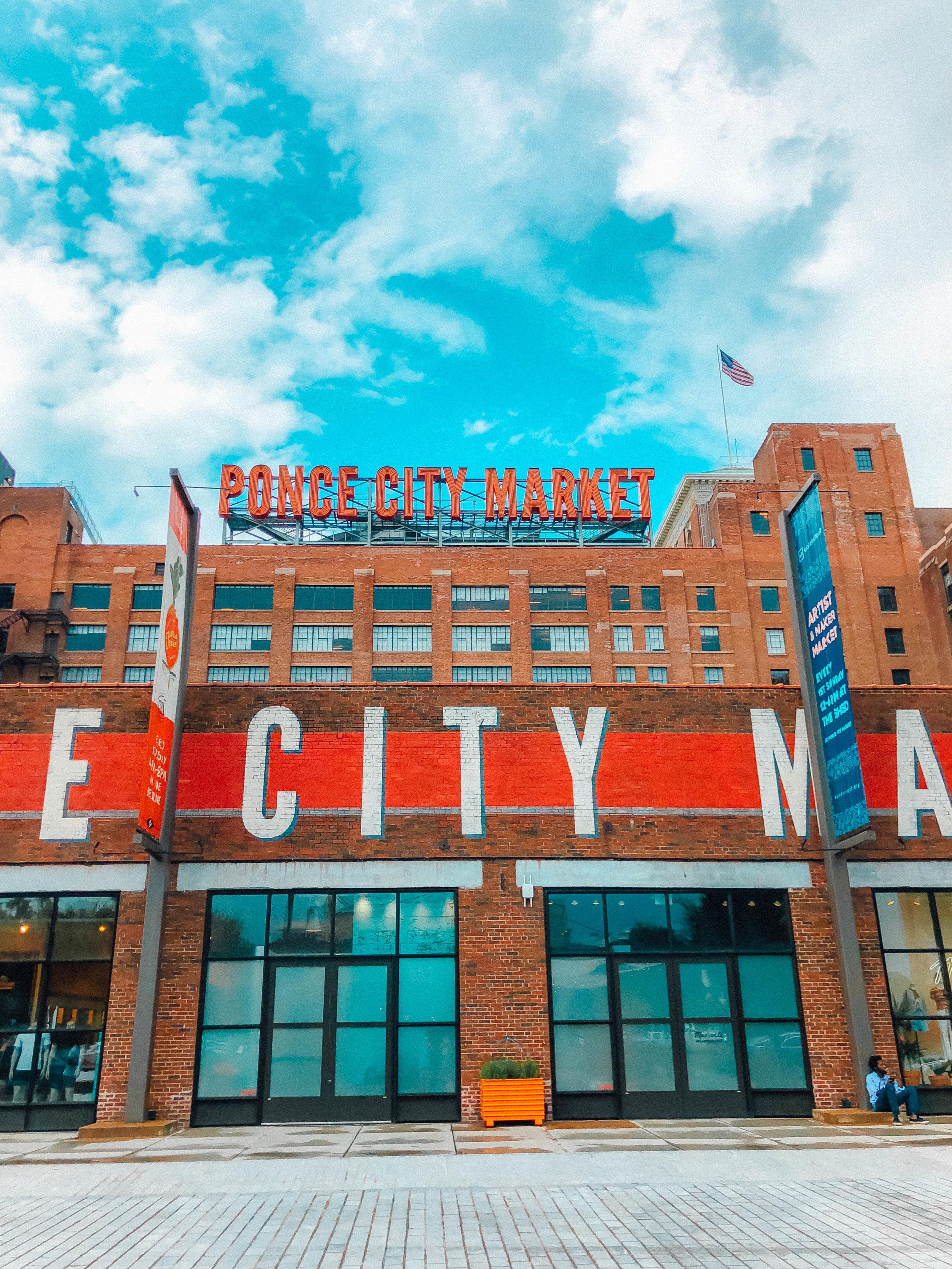 Ponce City Market | Where to Visit in Atlanta | Jordan Hefler