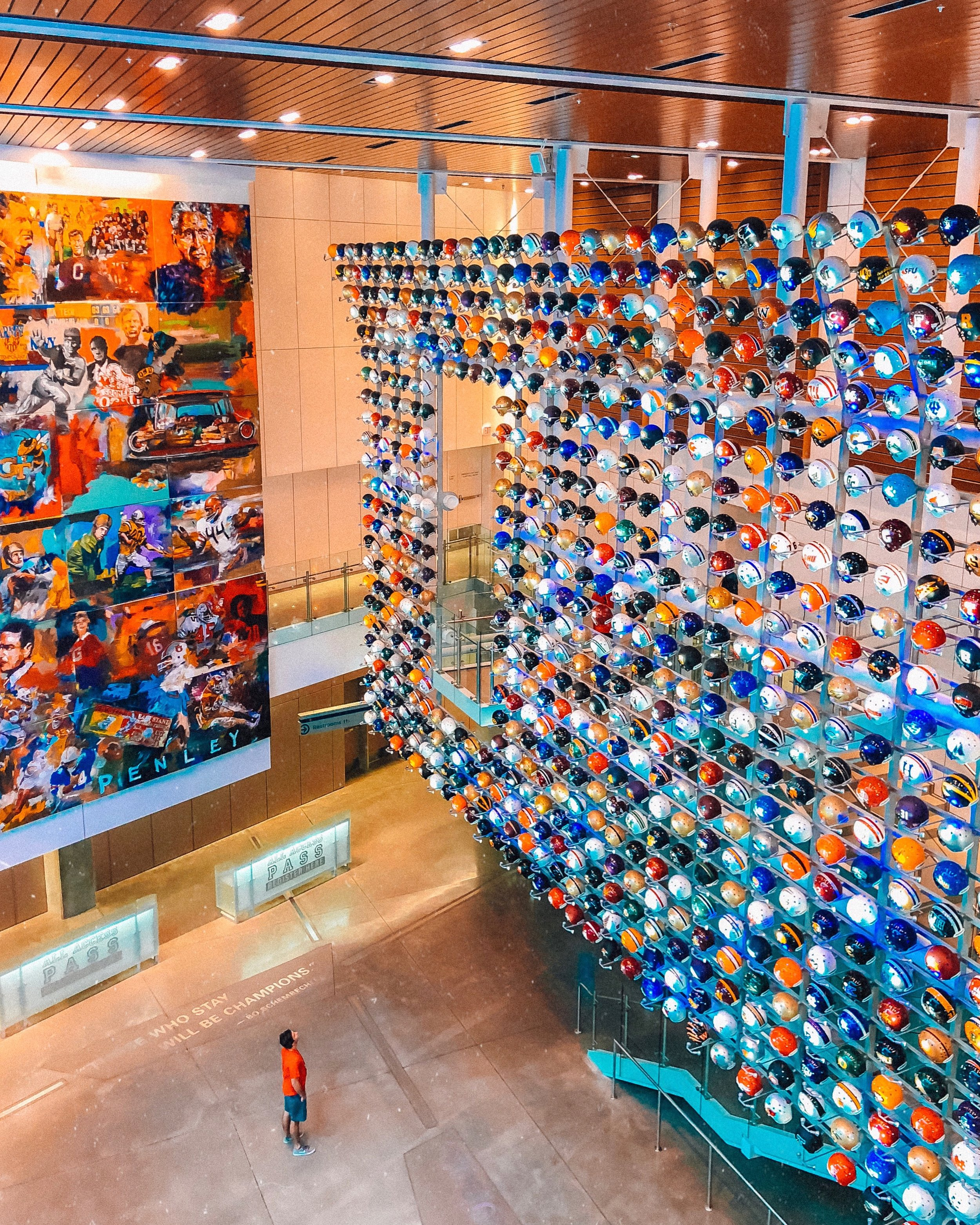 College Football Hall of Fame | Where to Visit in Atlanta | Jordan Hefler
