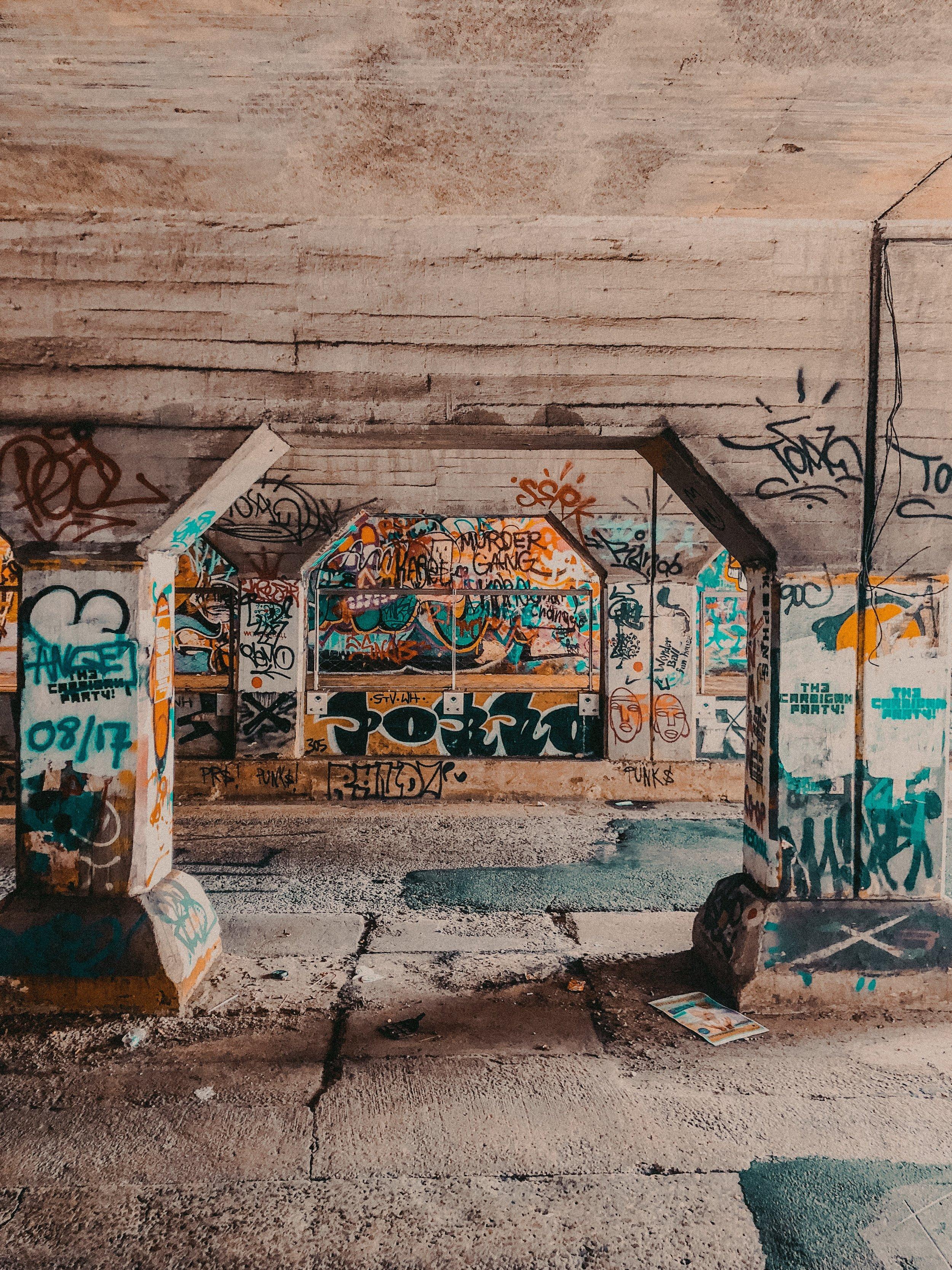 Krog Street Tunnel | Where to Visit in Atlanta | Jordan Hefler