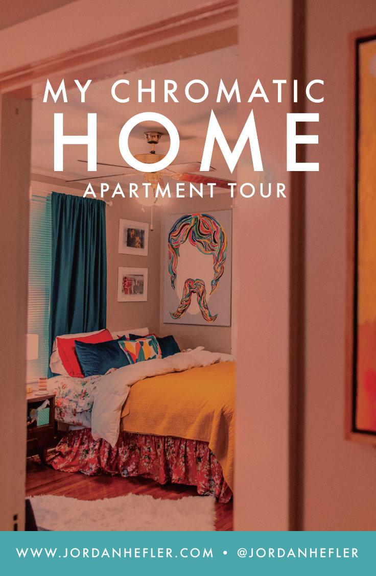 My Chromatic Home | Colorful, Mid-Century Modern/Boho Apartment Tour