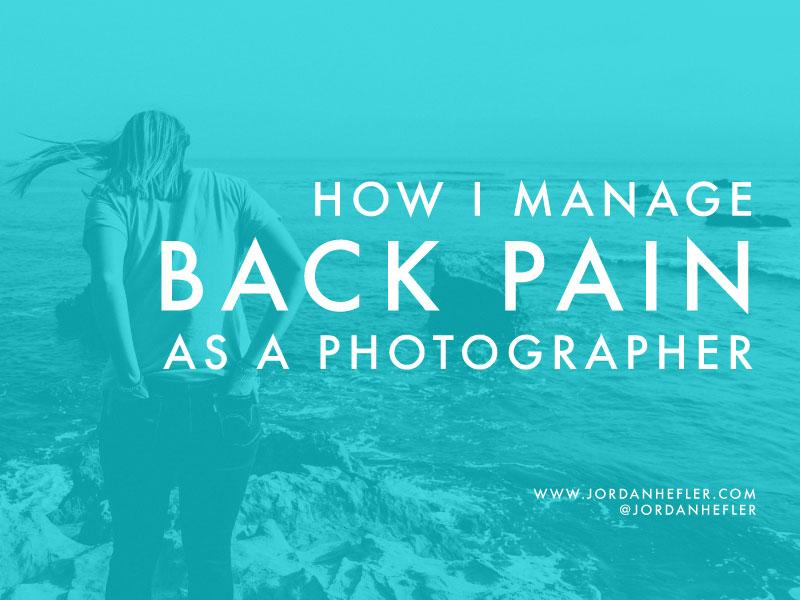 as a Photographer | Jordan Hefler